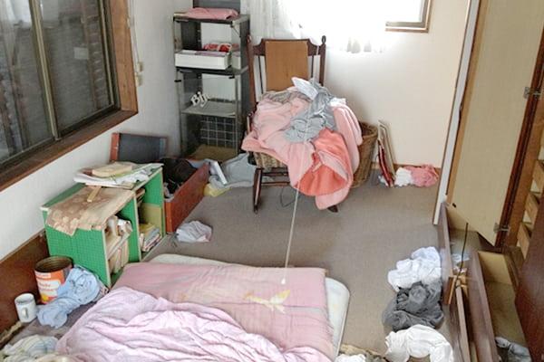 整理前の部屋